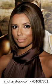 Eva Longoria at the Los Angeles premiere of 'Harsh Times' held at the Crest Theater in Westwood, USA on November 5, 2006.