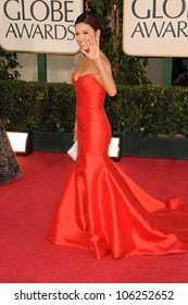 Eva Longoria Parker at the 66th Annual Golden Globe Awards. Beverly Hilton Hotel, Beverly Hills, CA. 01-11-09