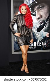 """Eva Marie at the Los Angeles premiere of """"San Andreas"""" held at the TCL Chinese Theatre IMAX in Los Angeles, USA on May 26, 2015."""