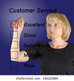 Evaluation of customer service