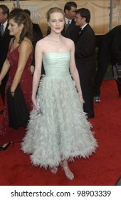 EVAN RACHEL WOOD at the 10th Annual Screen Actors Guild Awards in Los Angeles. February 22, 2004