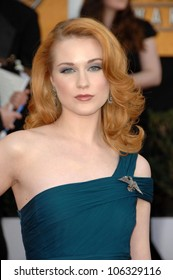 Evan Rachel Wood at the 15th Annual Screen Actors Guild Awards. Shrine Auditorium, Los Angeles, CA. 01-25-09