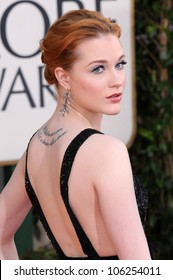 Evan Rachel Wood at the 66th Annual Golden Globe Awards. Beverly Hilton Hotel, Beverly Hills, CA. 01-11-09