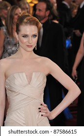 Evan Rachel Wood at the 81st Academy Awards at the Kodak Theatre, Hollywood. February 22, 2009  Los Angeles, CA Picture: Paul Smith / Featureflash