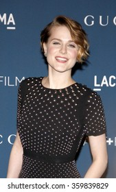 Evan Rachel Wood at the LACMA 2013 Art + Film Gala Honoring Martin Scorsese And David Hockney Presented By Gucci held at the LACMA in Los Angeles, USA on November 2, 2013.