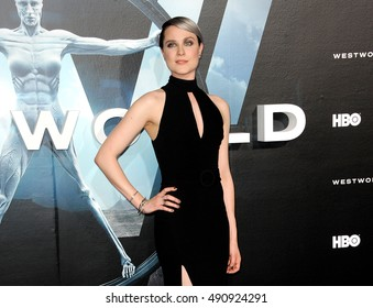 Evan Rachel Wood at the Los Angeles premiere of HBO's 'Westworld' held at the TCL Chinese Theatre in Hollywood, USA on September 28, 2016.