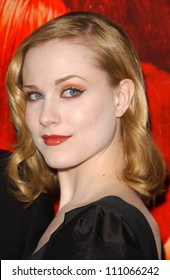 """Evan Rachel Wood  at the special screening of """"Across The Universe"""". Egyptian Theatre, Hollywood, CA. 09-18-07"""