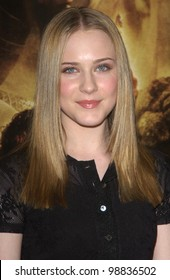 EVAN RACHEL WOOD at the USA premiere of The Lord of the Rings: The Return of the King, in Los Angeles. December 3, 2003  Paul Smith / Featureflash