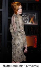 Evan Rachel Wood at the VH1's 14th Annual Critics' Choice Awards held at the Santa Monica Civic Auditorium in Santa Monica, USA on January 8, 2009.