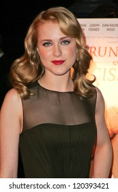 """Evan Rachel Wood at the World Premiere of """"Running With Scissors"""". Academy of Motion Picture Arts and Sciences, Beverly Hills, CA. 10-10-06"""
