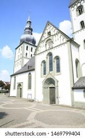 Evangelic church in downtown of Lippstadt, Westphalia, Germany
