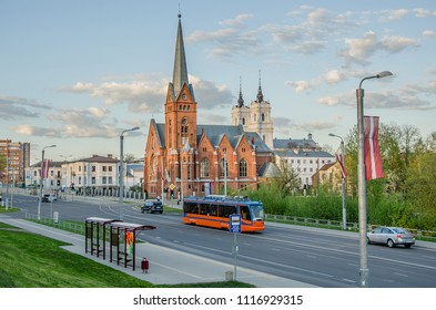 Evangelical Lutheran Church of Martin Luther and Church of the Immaculate Conception of the Virgin Mary, Daugavpils, Latvia