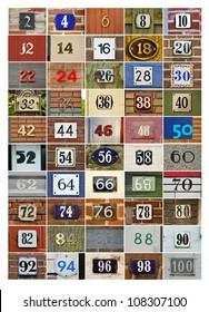 Even House Numbers two to Hundred
