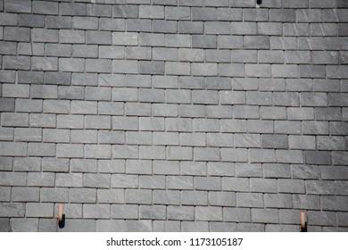 even slate roof
