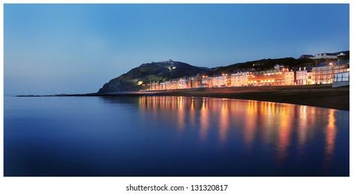 Evening in Aberystwyth