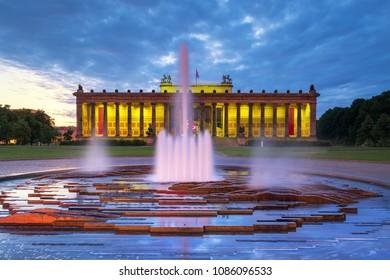 Evening at the Berlin Lustgarten