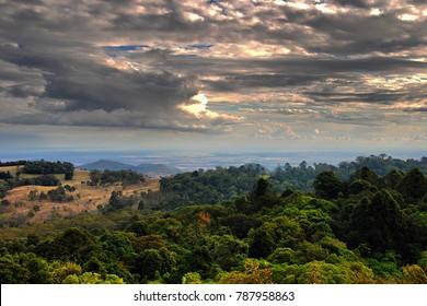 Evening in the Bunya Mountains, Queensland, Australia