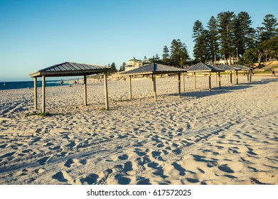 Evening at Cottesloe Beach, Perth, Western Australia, Australia,