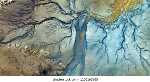 the evening dress, tribute to Pollock, abstract photography of the deserts of Africa from the air, aerial view, abstract expressionism, contemporary photographic art,