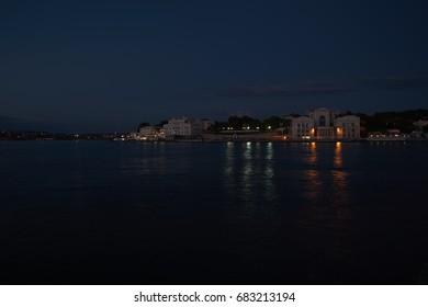 evening embankment