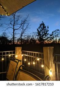 evening holiday sunset sky farm deck