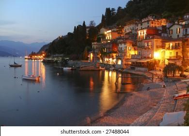 Evening of the Lago di Como
