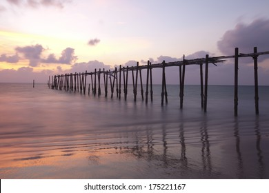 Evening light along the Andaman Sea, Thailand