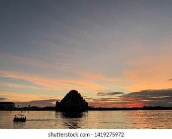 Evening at Losari Beach Makassar , Indonesia