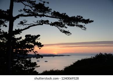 Evening at Perros-Guirec, Brittany