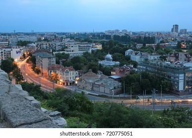 Evening Plovdiv (Bulgaria). Journey 23 June 2015.