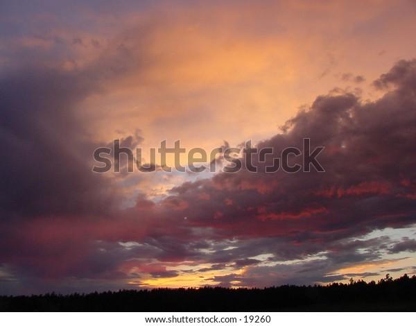 Evening Sky after a storm.