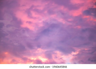 The evening sky background before sunset
