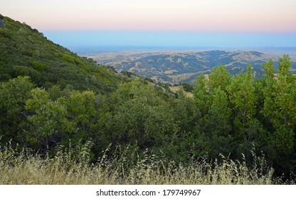 Evening Sky Looking East From Mt Diablo