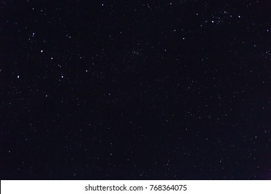 Evening sky with star background