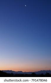 Evening Summer Sky