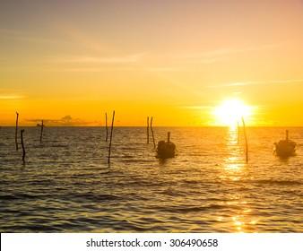 Evening Sun Idyllic Place