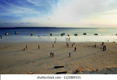 Evening at Tanjung Bira Beach, Indonesia.