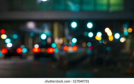 Evening Traffic Background