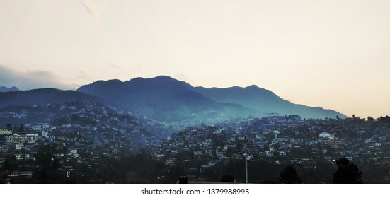 evening view of kohima, nagaland, Northeast India