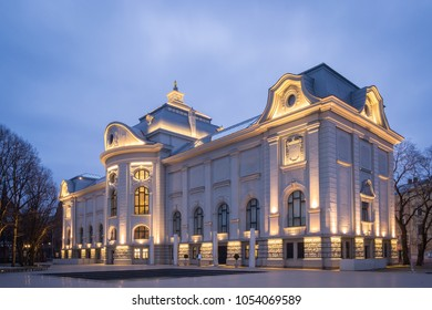 Evening View of the Latvian National Museum of Art