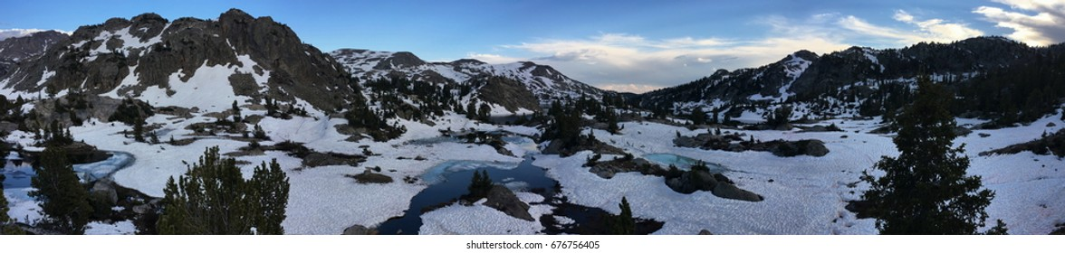 Evening in the Wind River Range, Wyoming