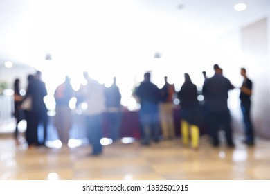 event business people blur seminar party corporate conference blurry background cocktail meeting convention abstract coffee break social crowd focus