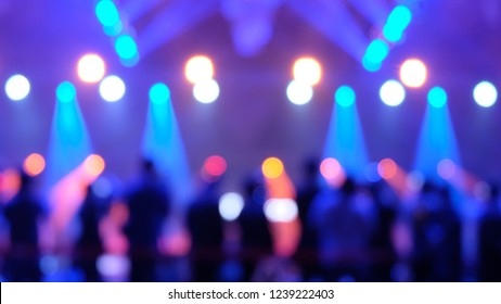 event hall production backstage background ray light bokeh effect blurry esport concert