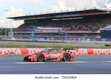 Event,Chang international cicuit ,thailand,october 07-08, 2017 :super gt race round7