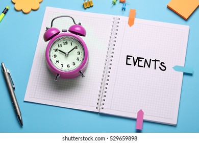 Events, Business Concept