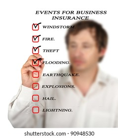 Events for business insurance