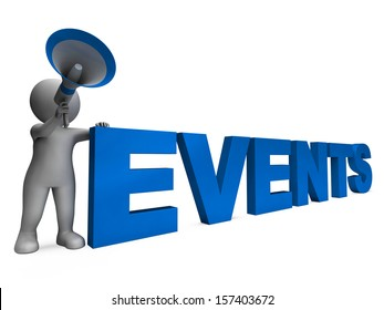 Events Character Meaning Concert Occasion Events Or Functions