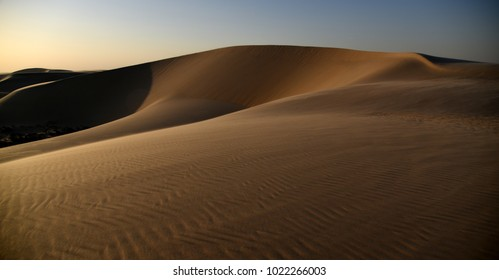 The EverChanging Shapes of the Dunes of the Arabian Desert