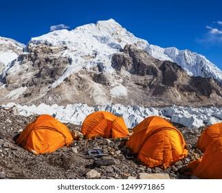 Everest Base Camp trek, nepal. Himalayas Views