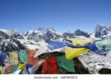everest view in the everest base camp